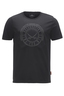Herren T-Shirt TIME FOR WINE , black, XS