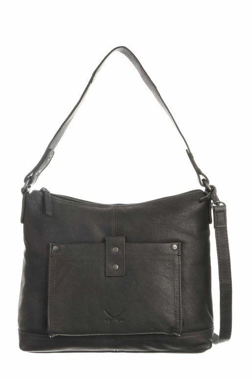 SB-1380-00 Zip Bag , one size, BLACK