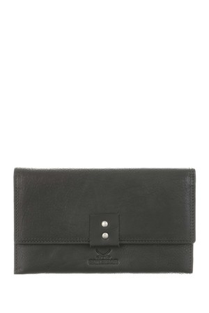 SB-1385-00 Flap Wallet , one size, BLACK