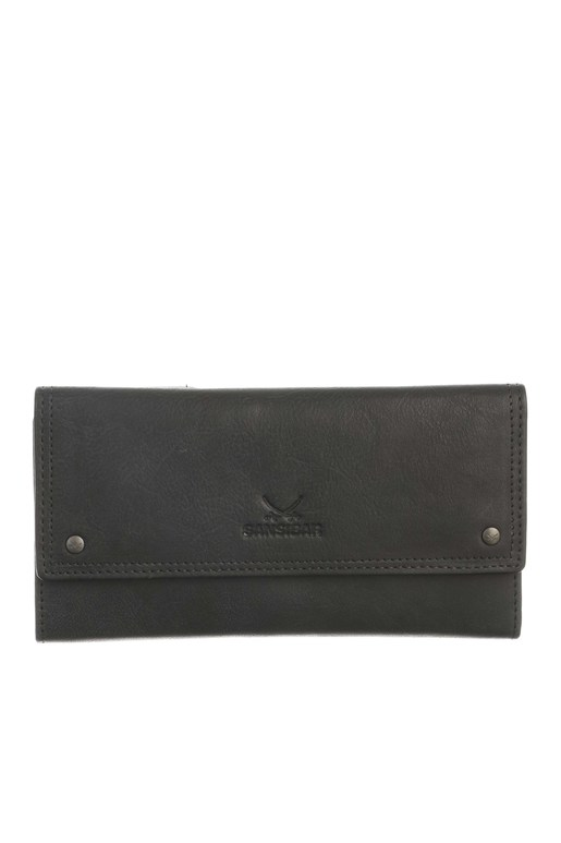 SB-1386-00 Flap Wallet , one size, BLACK