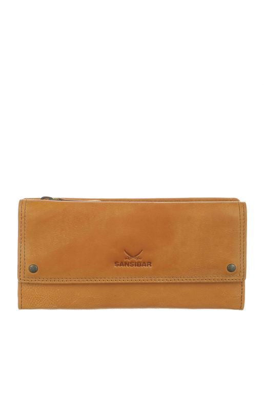 SB-1386-74 Flap Wallet , one size, TAN