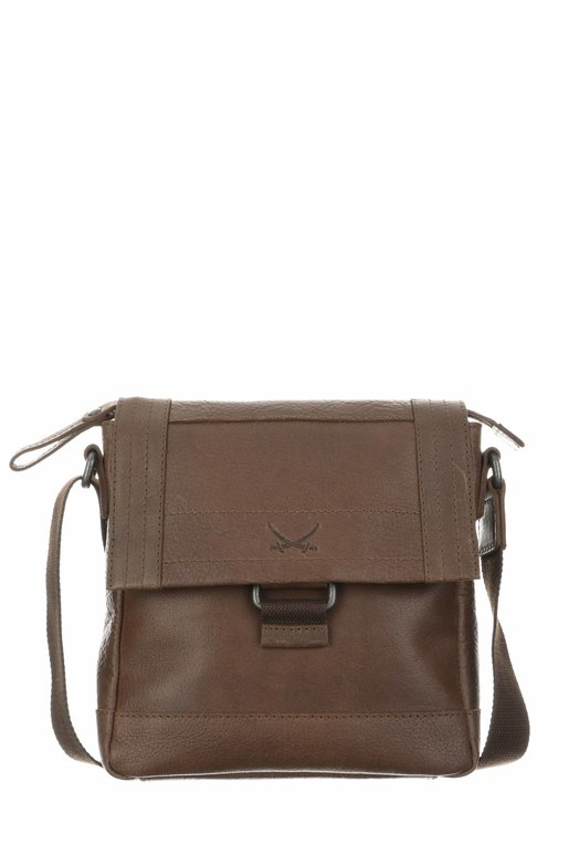 SB-1390-47 Crossover Bag , one size, BRANDY