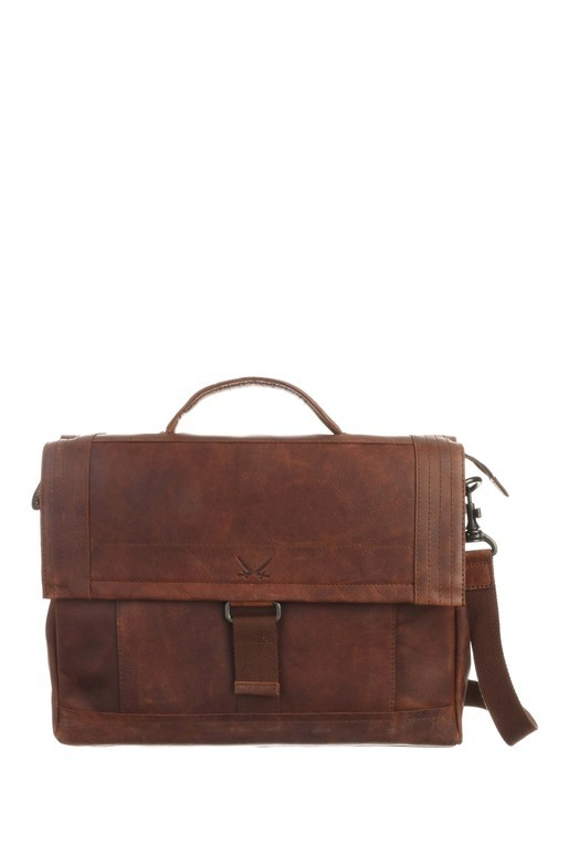 SB-1391-47 Messenger Bag , one size, BRANDY