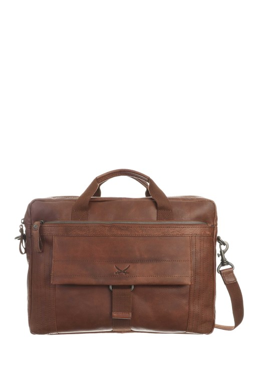 SB-1392-47 Business Bag , one size, BRANDY