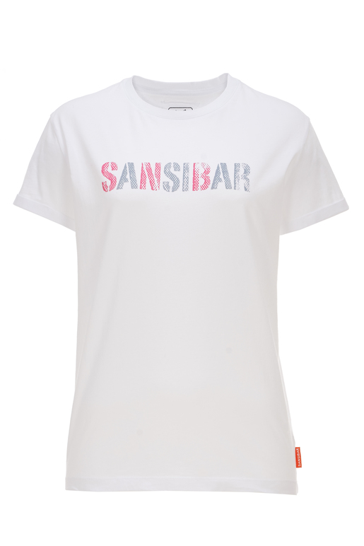 Damen T-Shirt SANSIBAR , white, XL