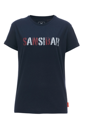 Damen T-Shirt SANSIBAR , navy, XL