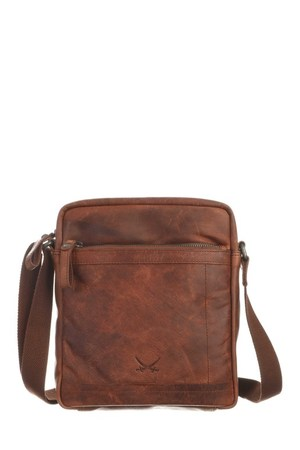 SB-1393-47 Crossover Bag , one size, BRANDY