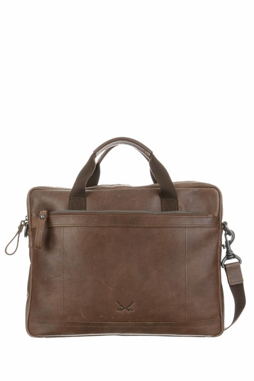SB-1394-47 Business Bag , one size, BRANDY