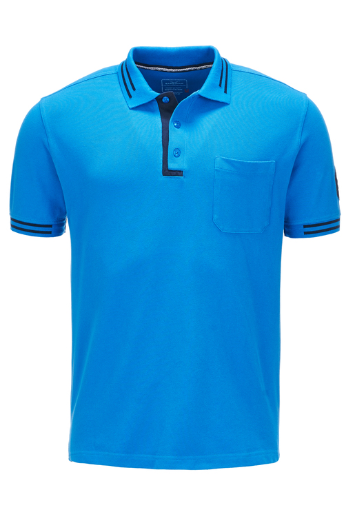 Herren Poloshirt HIGHER PERFORMANCE , blue, XS