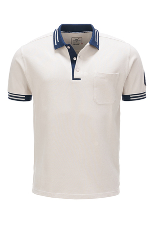 Herren Poloshirt HIGHER PERFORMANCE , sand, XXXXL