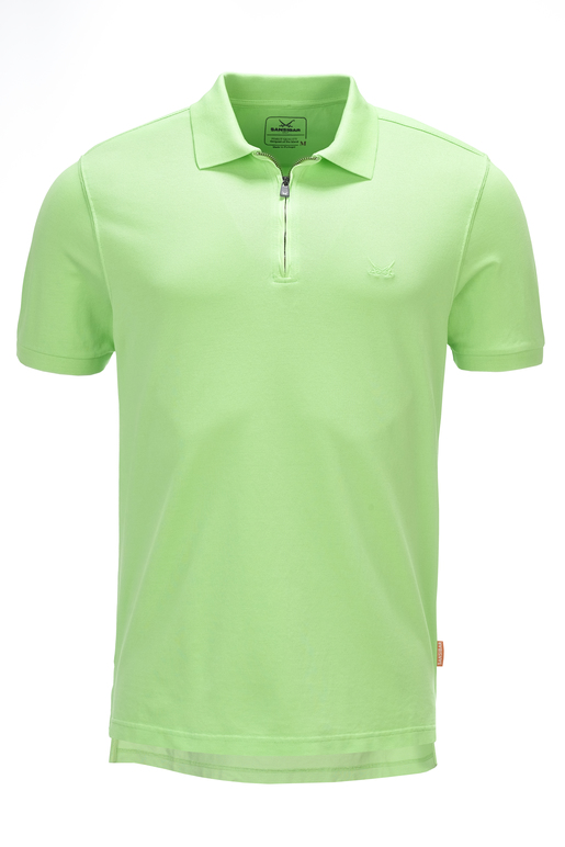 Herren Poloshirt GREEN FLASH , green, S
