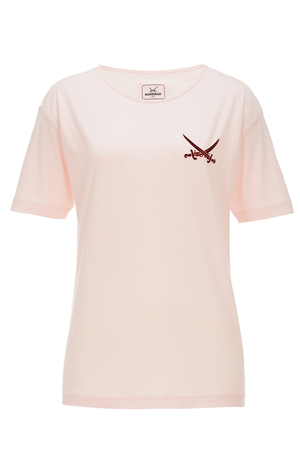 Damen T-Shirt LOVE , rosa, XXS