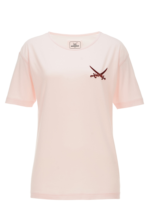 Damen T-Shirt LOVE , rosa, M