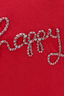 Damen T-Shirt BE HAPPY , red, XXS