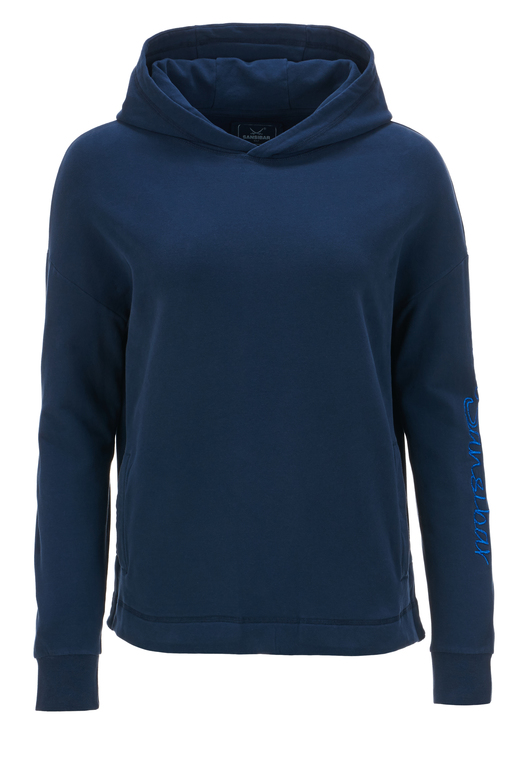 Damen Hoody TAPE , navy, XL