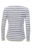 Damen Longsleeve NEON , GREY/WHITE, XL