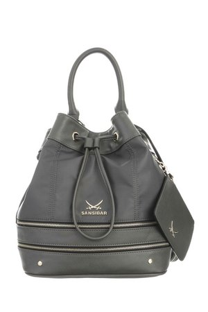 SB-1277-026 Bucket Bag , one size, ANTHRAZIT