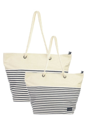 SB-1365-106 Beach Bag small , one size, NAVY