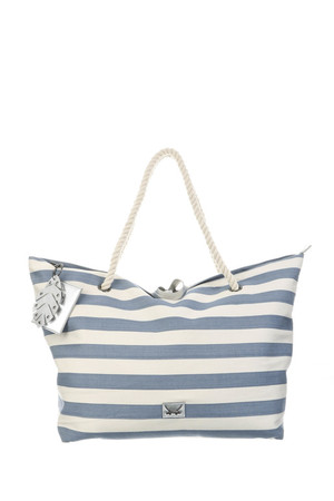 SB-1370-106 Beach Bag L , one size, NAVY