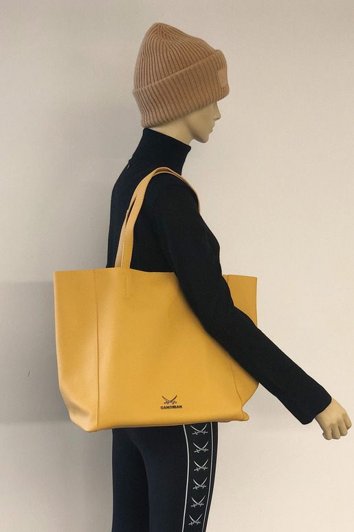 SB-2063-014 Shopper , one size, YELLOW
