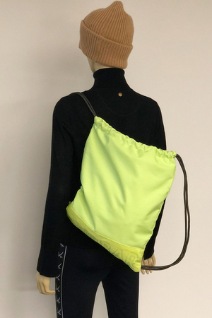SB- 2071-062 Gym Bag , one size, LIME