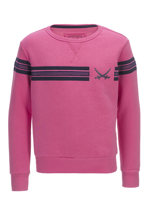 Kinder Unisex Sweater STRIPES , pink, 152/158