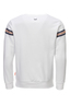 Herren Sweater STRIPES , white, XS