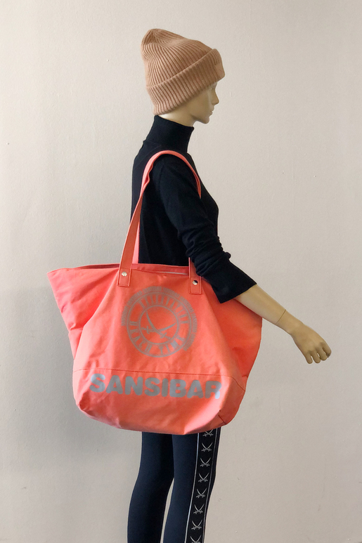 SB-2097-086 Beach Bag L , ONE SIZE, CORAL