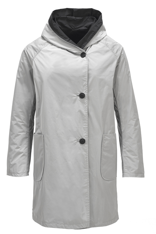 Damen Parka ALEX , MOON ROCK, M