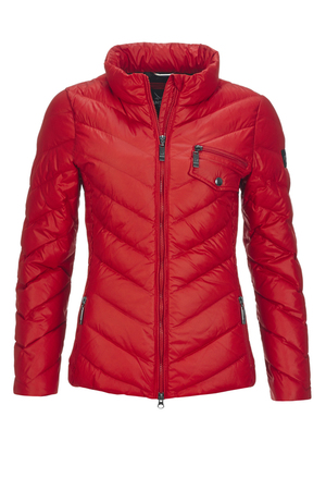 Damen Daunenjacke ALPHOSINE , CHINA RED, XXXL