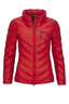 Damen Daunenjacke ALPHOSINE , CHINA RED, S