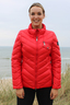 Damen Daunenjacke ALPHOSINE , CHINA RED, M