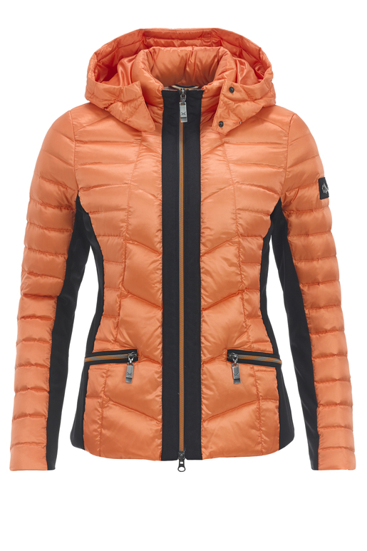 Damen Daunenjacke ARMELLE , BURNED ORANGE, XXXL