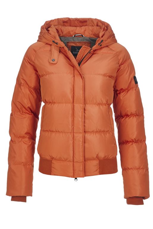 Damen Daunenjacke BEYONCE , ORANGE, XL