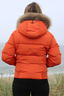 Damen Daunenjacke BEYONCE , ORANGE, XS