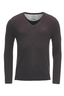 FTC Herren V-Neck Basic , CHOCOLATE, M
