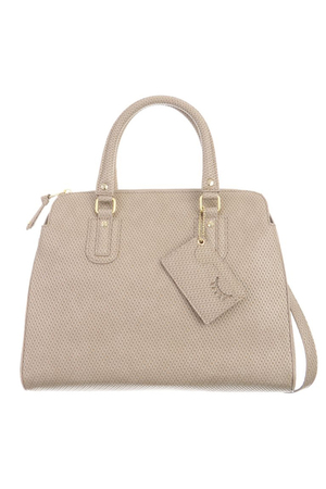 SB-1350-037 Zip Bag , ONE SIZE, TAUPE