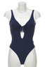 Damen Swimsuit SALVE , DARK BLUE, XS