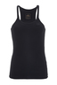 Damen Top BASIC , BLACK, XL