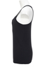 Damen Top BASIC , BLACK, M