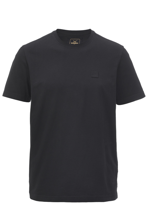 Herren T-Shirt BASIC , BLACK, S