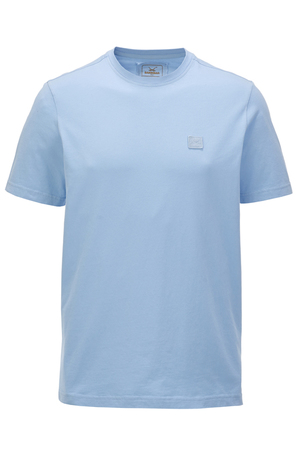 Herren T-Shirt BASIC , ICE BLUE, S