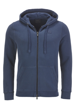 Unisex Sweatjacke BASIC , NAVY, XXXL