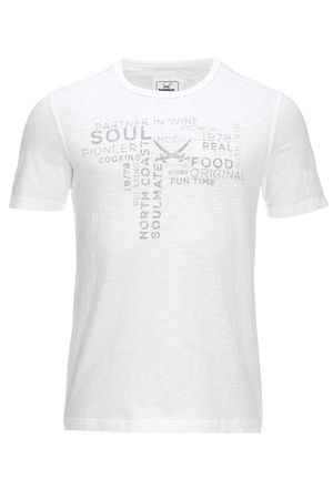 Herren T-Shirt SOUL FOOD , WHITE, XXXXL