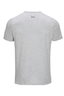 Herren T-Shirt DRINKS FOOD STYLE , SILVERMELANGE, L