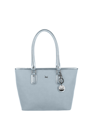 SB-2005-175 Shopper Bag , ONE SIZE, LIGHT BLUE