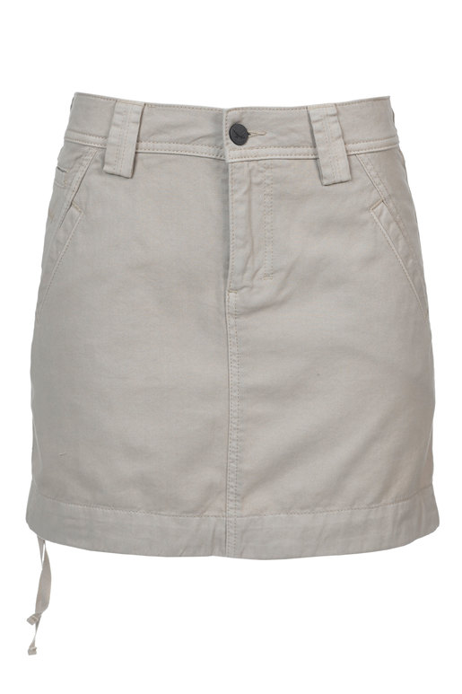 Damen Rock , BEIGE, XXL