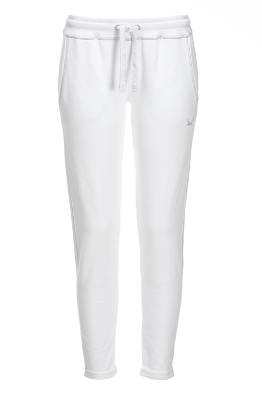 Damen Sweatpants , WHITE, S