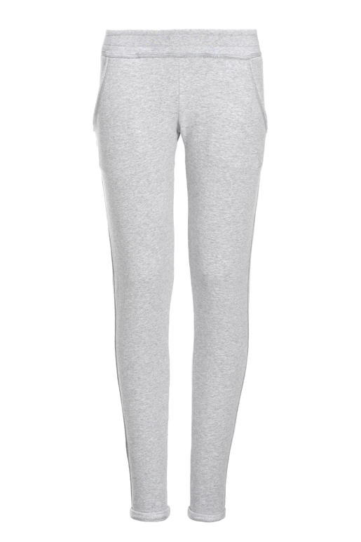 Girls Sweatpants , SILVERMELANGE, 140/146