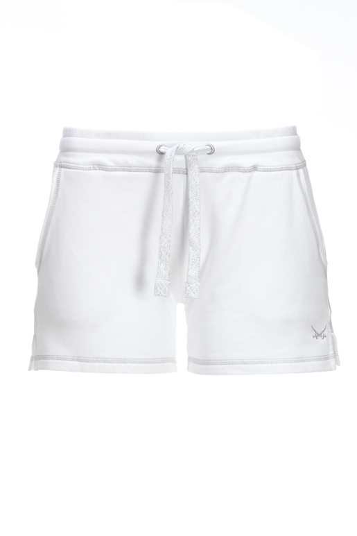 Damen Sweatshorts , WHITE, XL